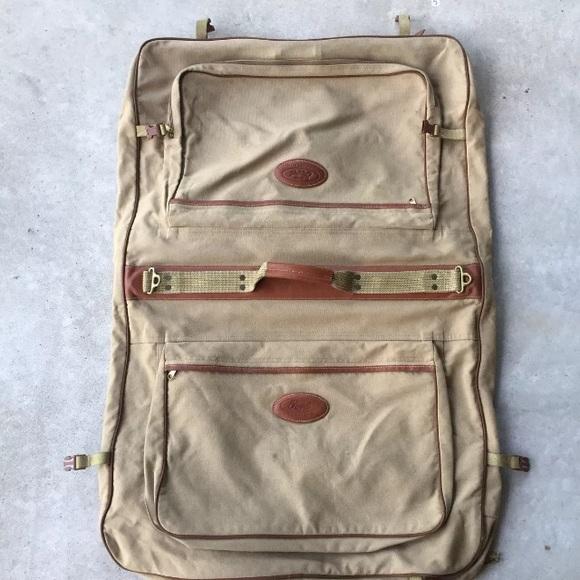696ede64a840 Eddie Bauer Other - Eddie Bauer Ford Canvas Folding Garment Bag